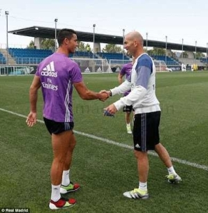 Photos: Cristiano Ronaldo And Pepe Return To Training At Real Madrid After Euro 2016 Campaign